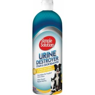 SIMPLE SOLUTION STAIN & ODOUR REMOVER - URINE DESTROYER 1000ml